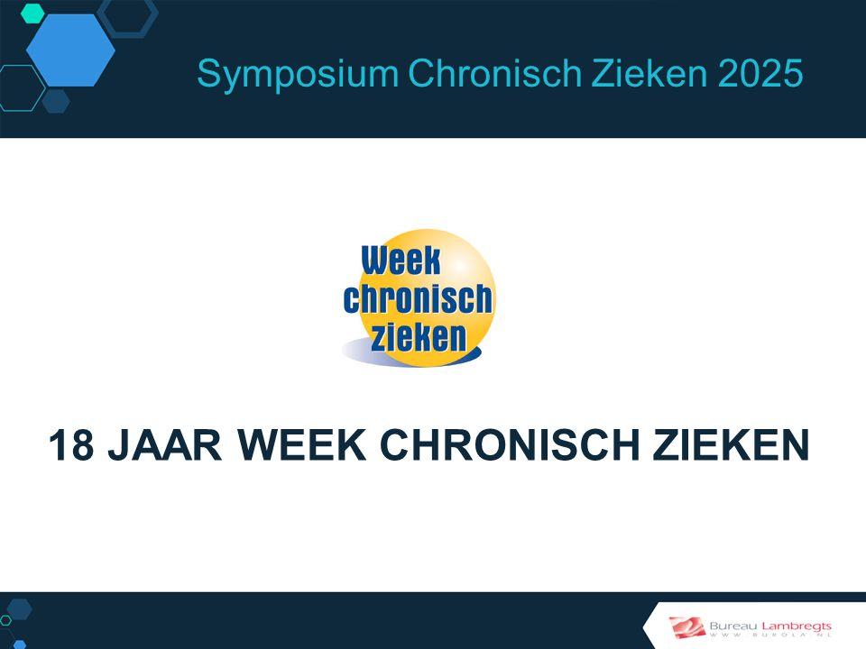 Symposium Chronisch Zieken 2025 1991 Installatie Nationale Commissie Chronisch Zieken (NCCZ) Door Hans Simons, staatssecretaris WVC VERTREKPUNT