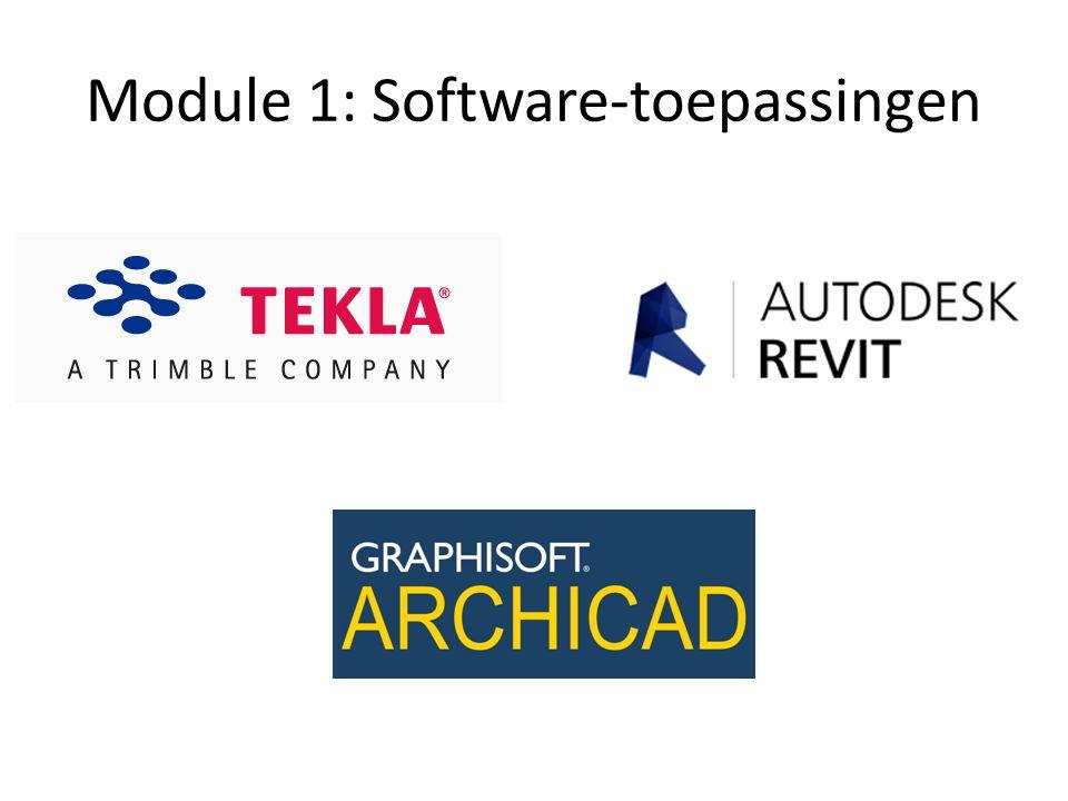 Module 1: Software-toepassingen