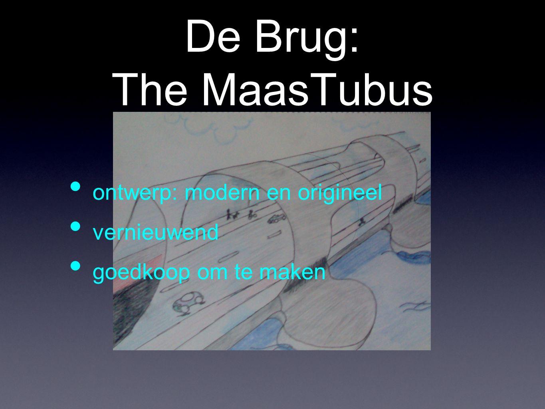 De Brug: The MaasTubus ontwerp: modern en origineel vernieuwend goedkoop om te maken