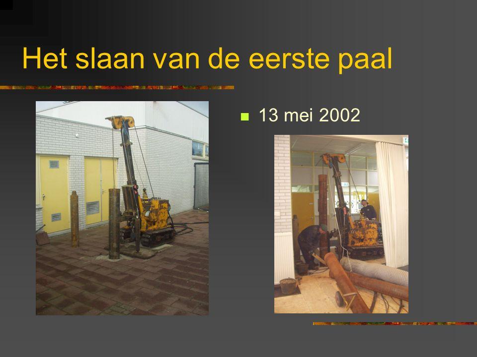 De verbouwing van Het Palet 2002 - 2003