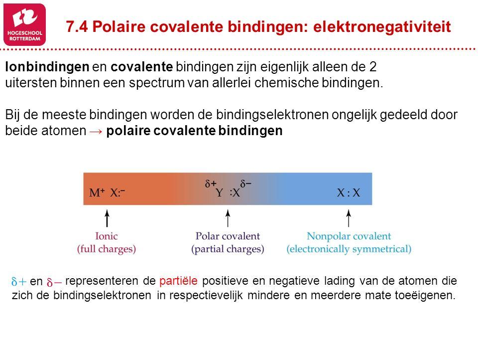 Ionbindingen en covalente bindingen zijn eigenlijk alleen de 2 uitersten binnen een spectrum van allerlei chemische bindingen. Bij de meeste bindingen