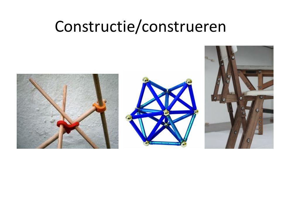Constructie/construeren