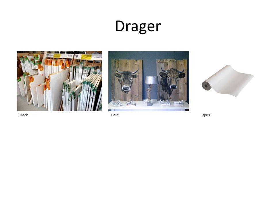 Drager DoekHoutPapier