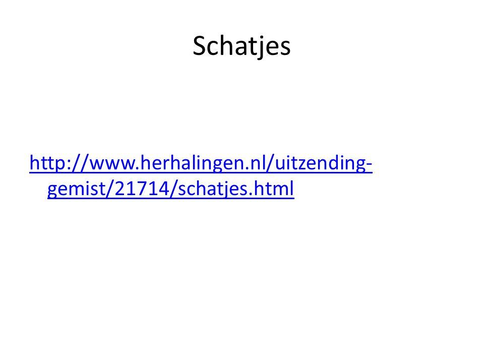 Schatjes http://www.herhalingen.nl/uitzending- gemist/21714/schatjes.html
