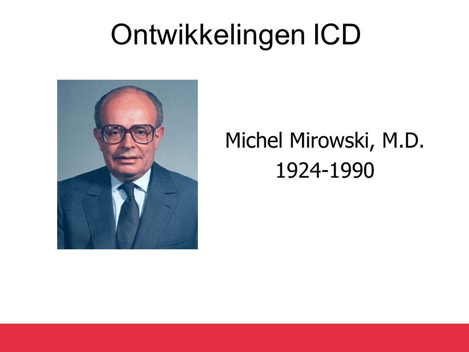 Ontwikkelingen ICD