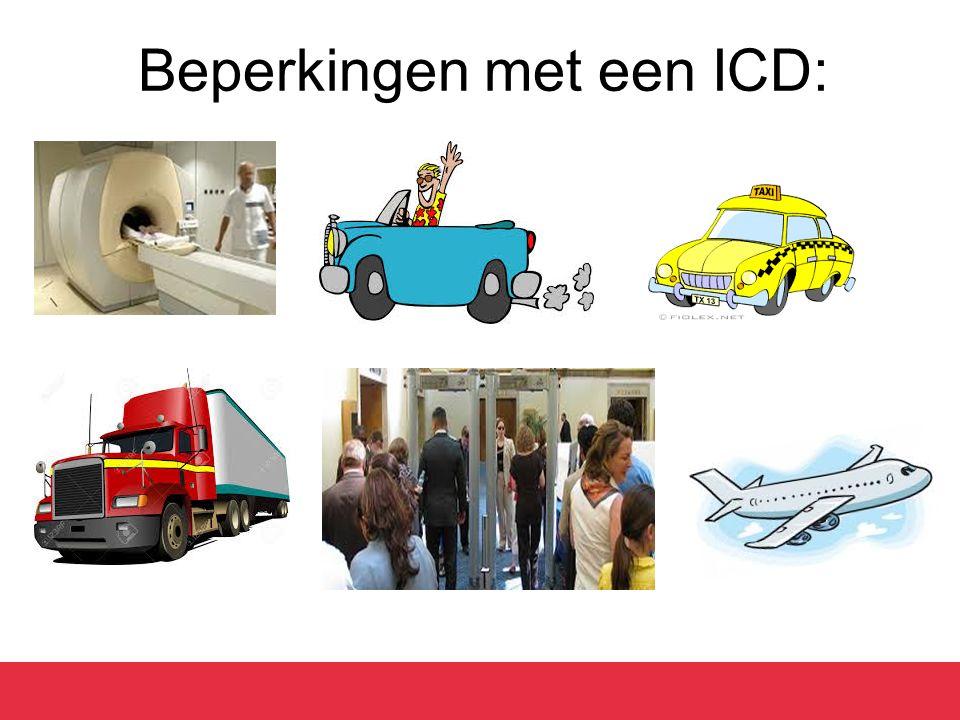 Beperkingen met een ICD: