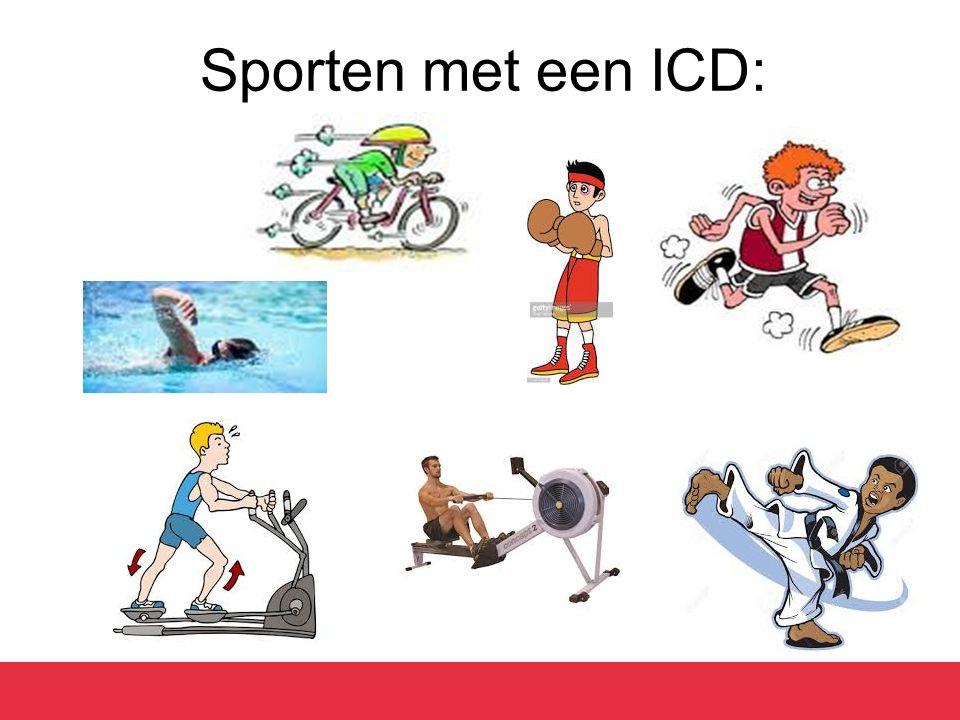 Sporten met een ICD: