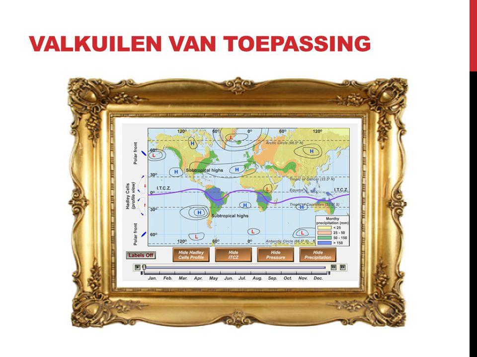 VALKUILEN VAN TOEPASSING