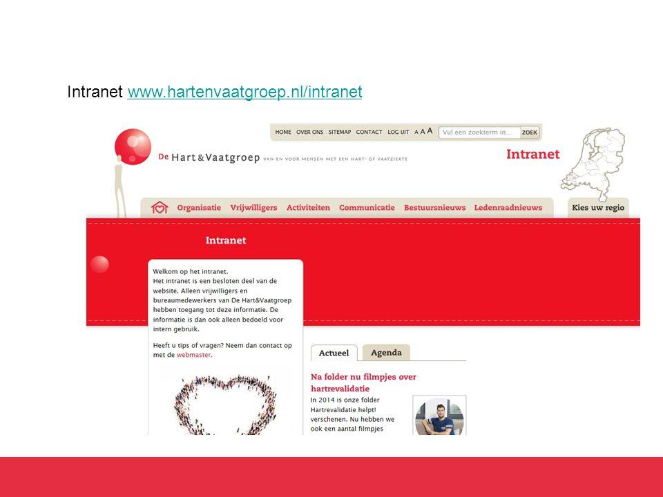 Intranet www.hartenvaatgroep.nl/intranetwww.hartenvaatgroep.nl/intranet