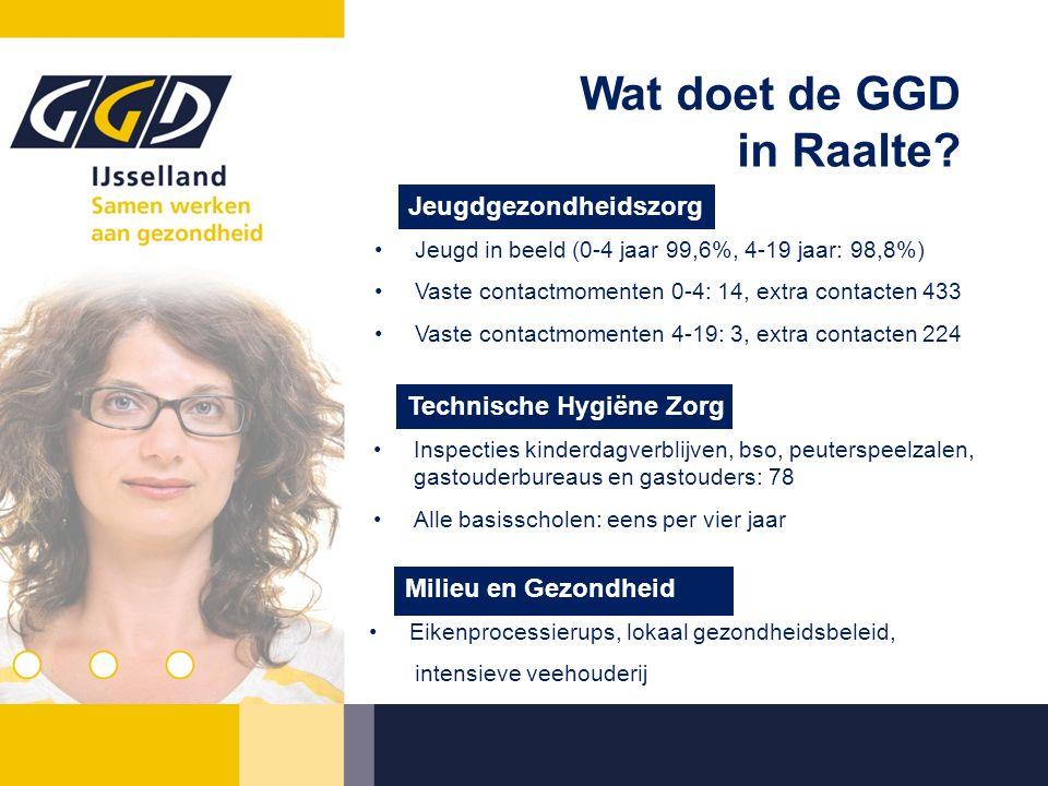 Wat doet de GGD in Raalte.