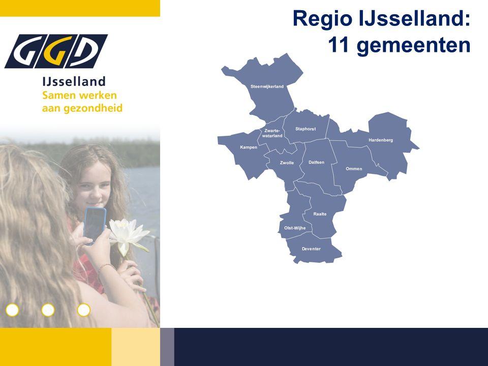 Regio IJsselland: 11 gemeenten
