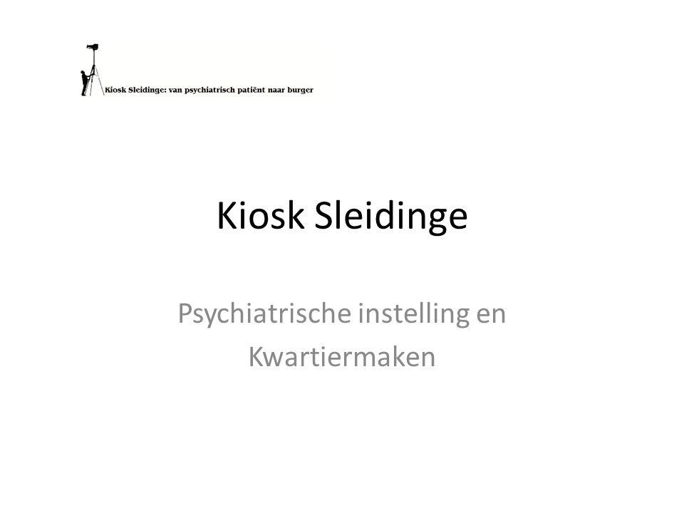 Kiosk Sleidinge Psychiatrische instelling en Kwartiermaken
