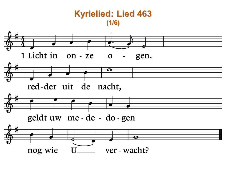 Kyrielied: Lied 463 (1/6)