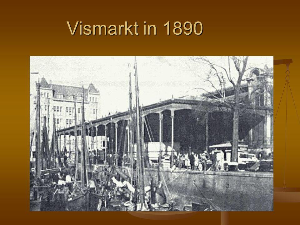 Vismarkt in 1890