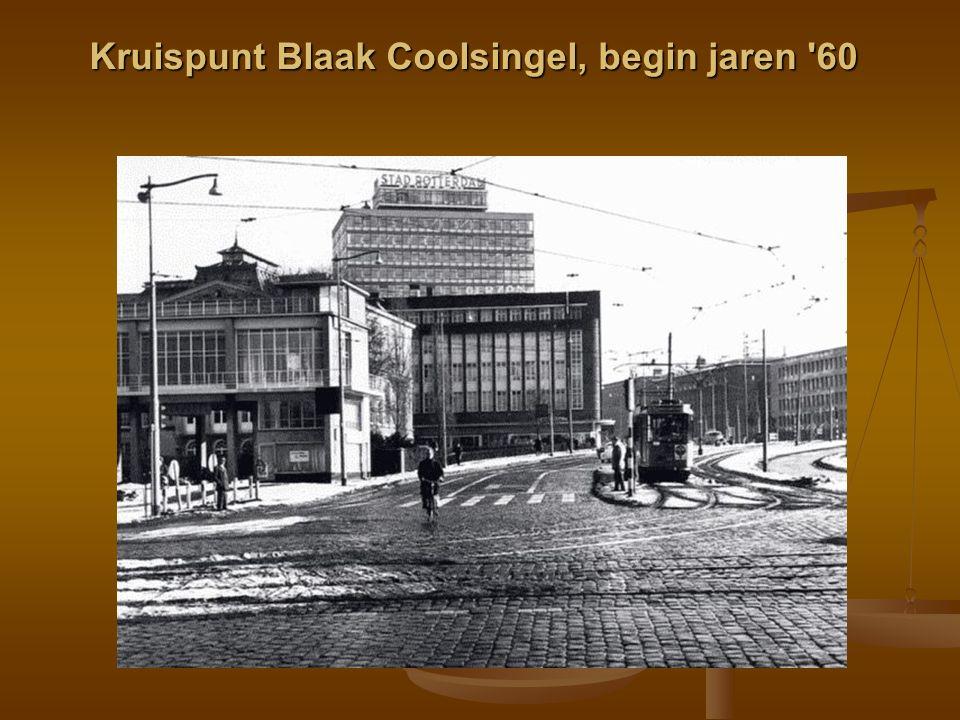 Kruispunt Blaak Coolsingel, begin jaren '60
