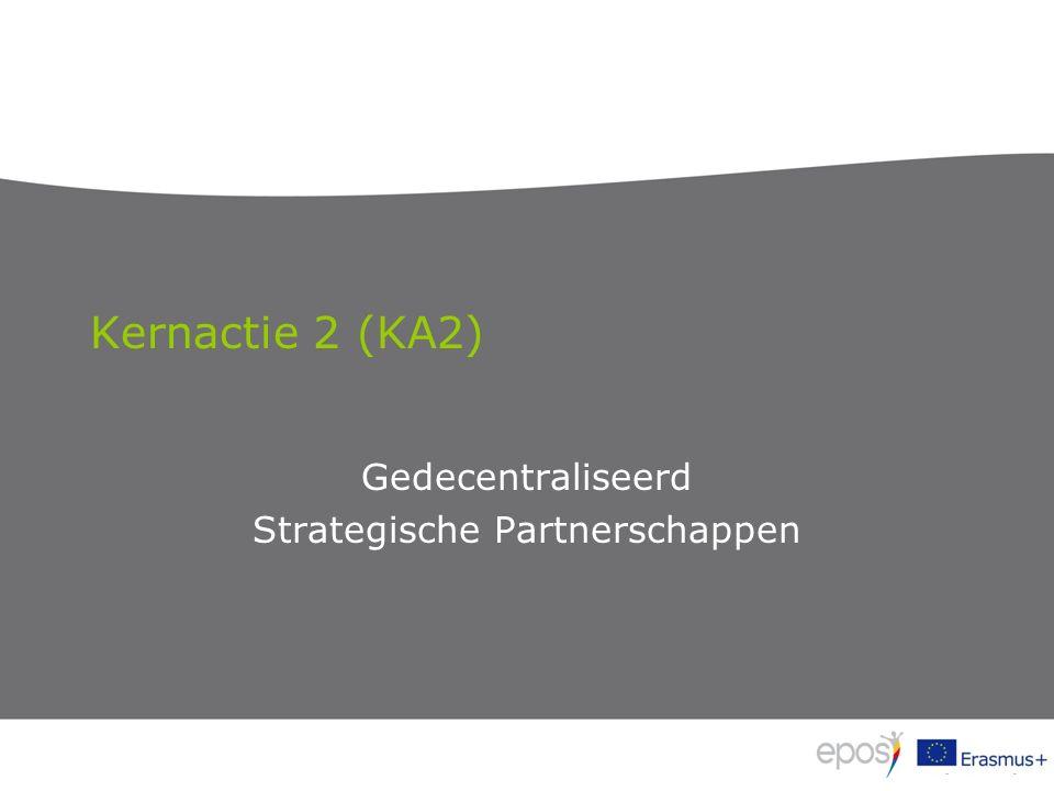 Kernactie 2 (KA2) Gedecentraliseerd Strategische Partnerschappen