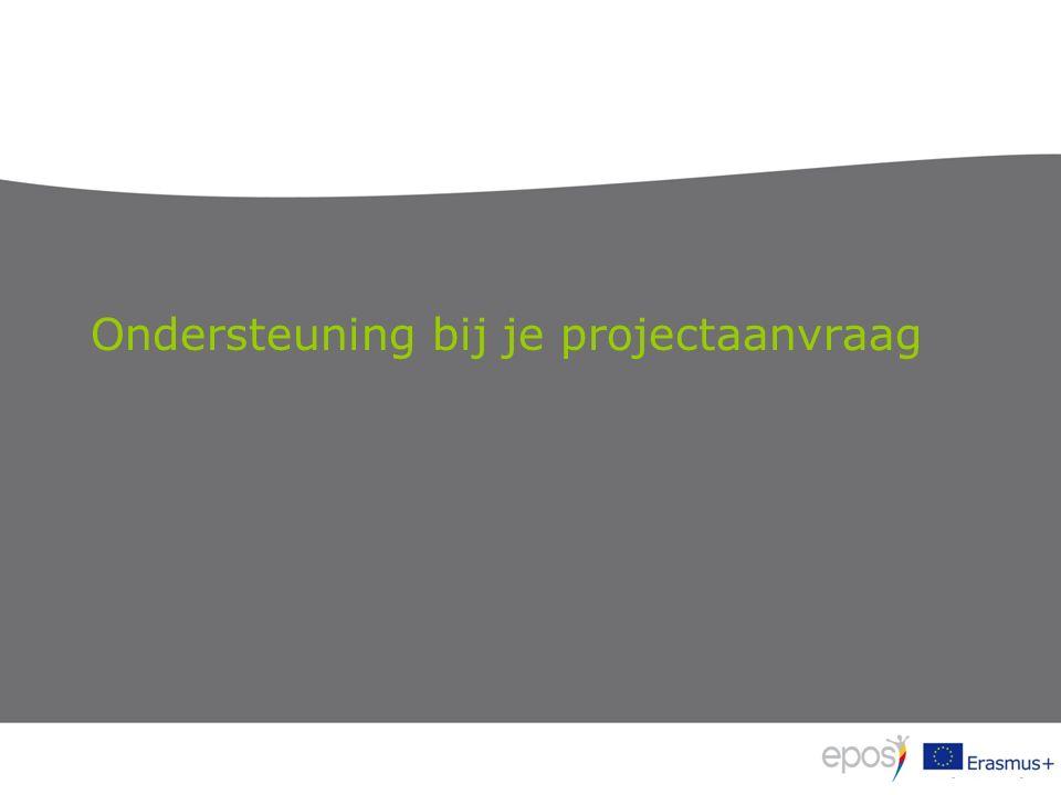 Ondersteuning bij je projectaanvraag
