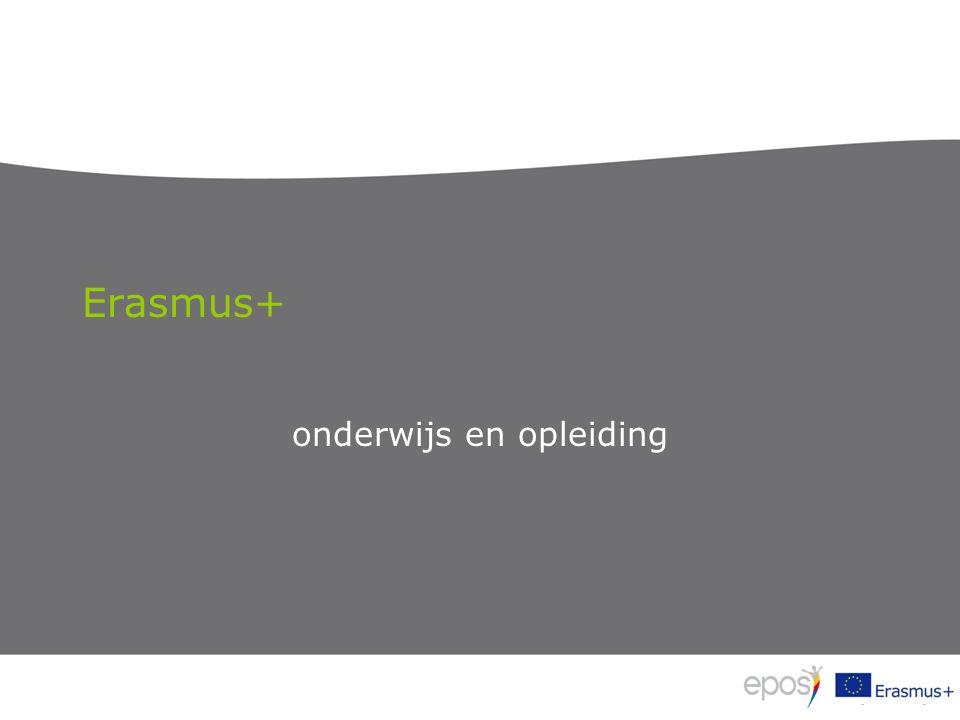 Erasmus+ onderwijs en opleiding