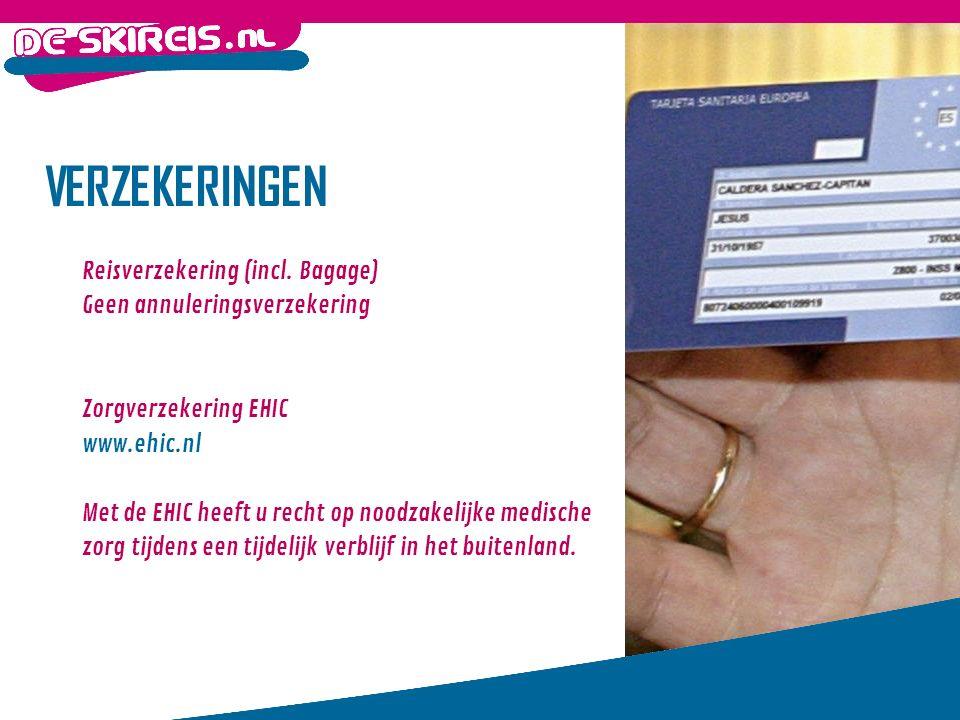 VERZEKERINGEN Reisverzekering (incl.