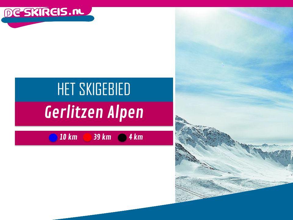Gerlitzen Alpen HET SKIGEBIED 10 km4 km39 km