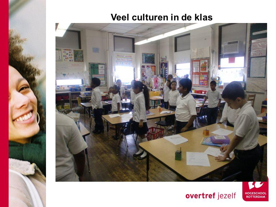 Veel culturen in de klas