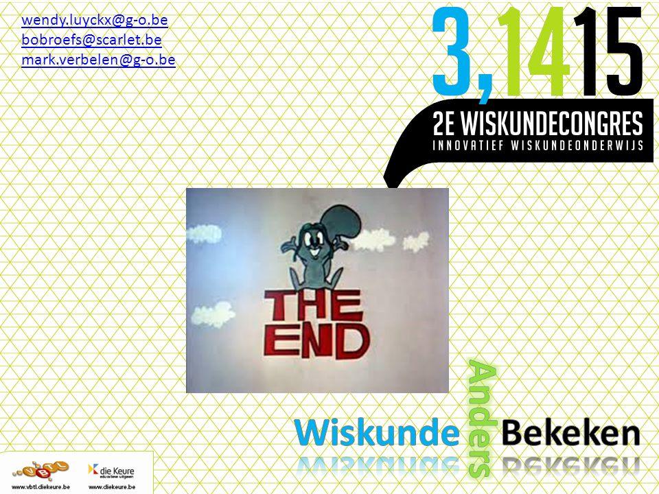 wendy.luyckx@g-o.be bobroefs@scarlet.be mark.verbelen@g-o.be