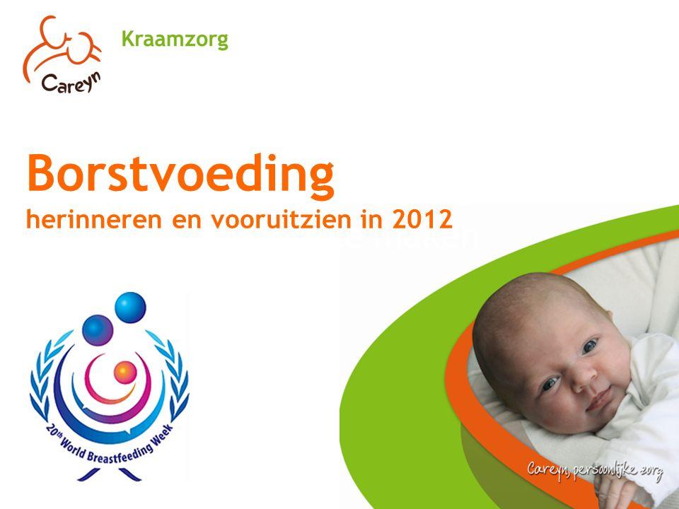 Goed voorbereid een keuze maken Borstvoeding herinneren en vooruitzien in 2012