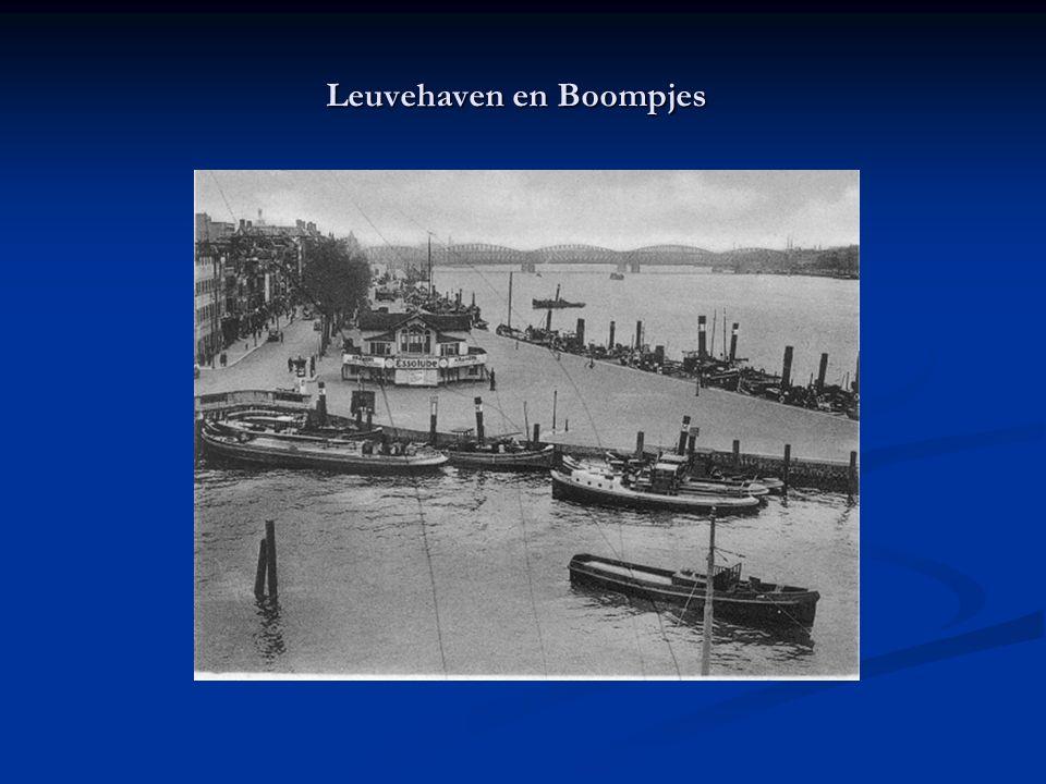 Leuvehaven en Boompjes