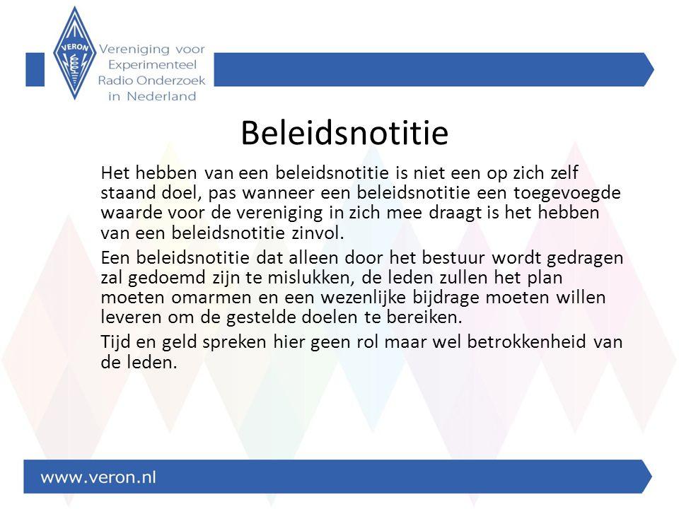 Wat is beleid Beleid is werken aan de toekomst.– Kenmerk: toekomst gericht richting bepalend.