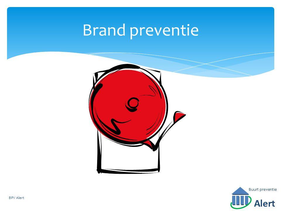 Brand preventie BPV Alert