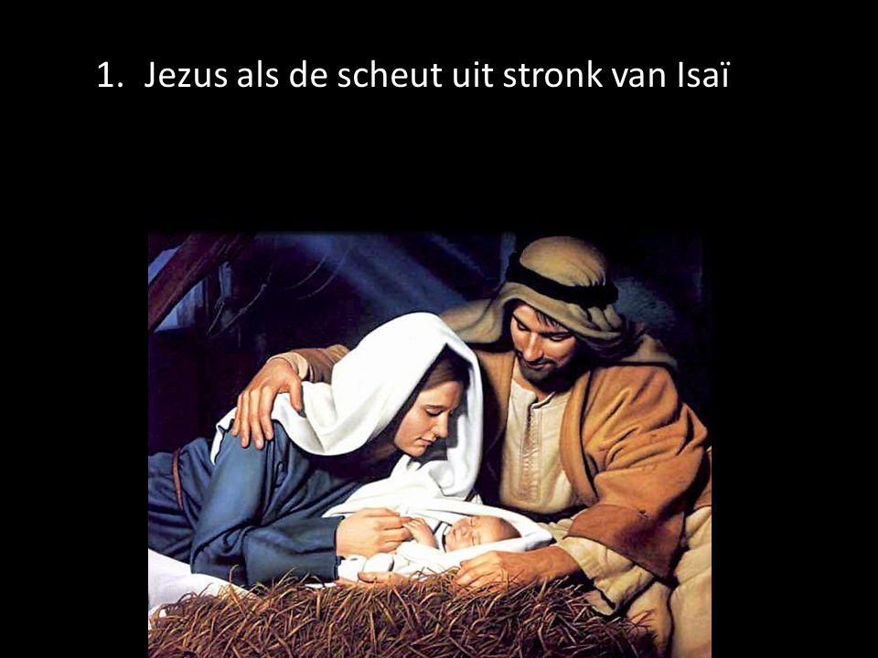 1.Jezus als de scheut uit stronk van Isaï