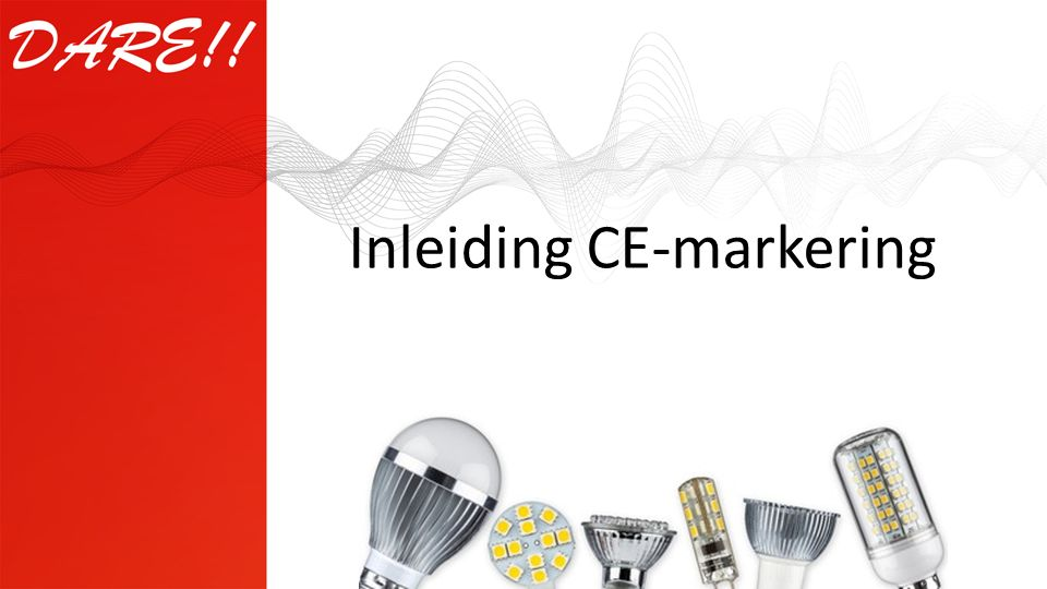 Inleiding CE-markering