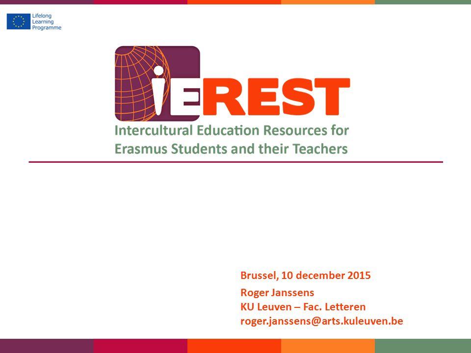 Brussel, 10 december 2015 Roger Janssens KU Leuven – Fac. Letteren roger.janssens@arts.kuleuven.be