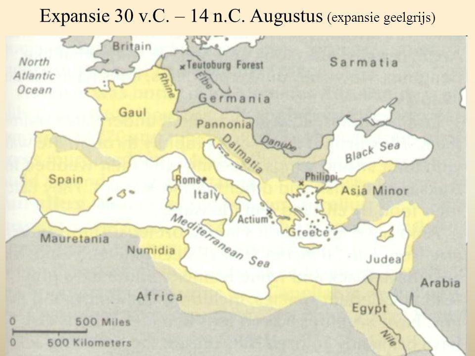 Expansie 30 v.C. – 14 n.C. Augustus (expansie geelgrijs)