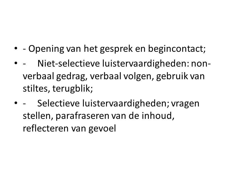 voor de volgende les lezen Een inclusieve, systeem-theoretische benadering (p.