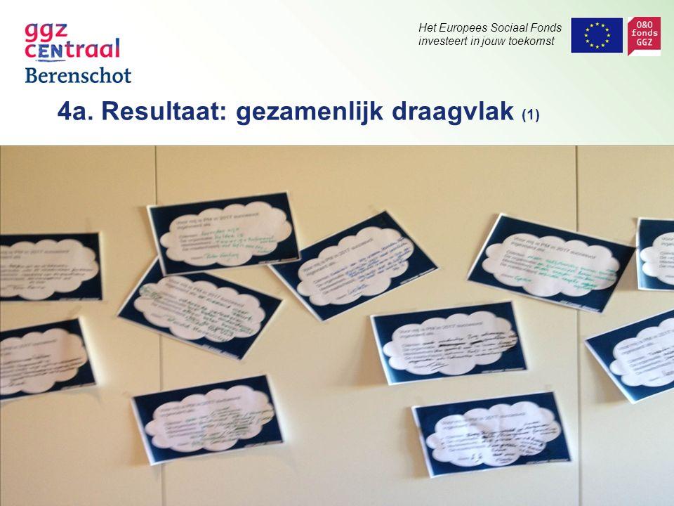 Het Europees Sociaal Fonds investeert in jouw toekomst.