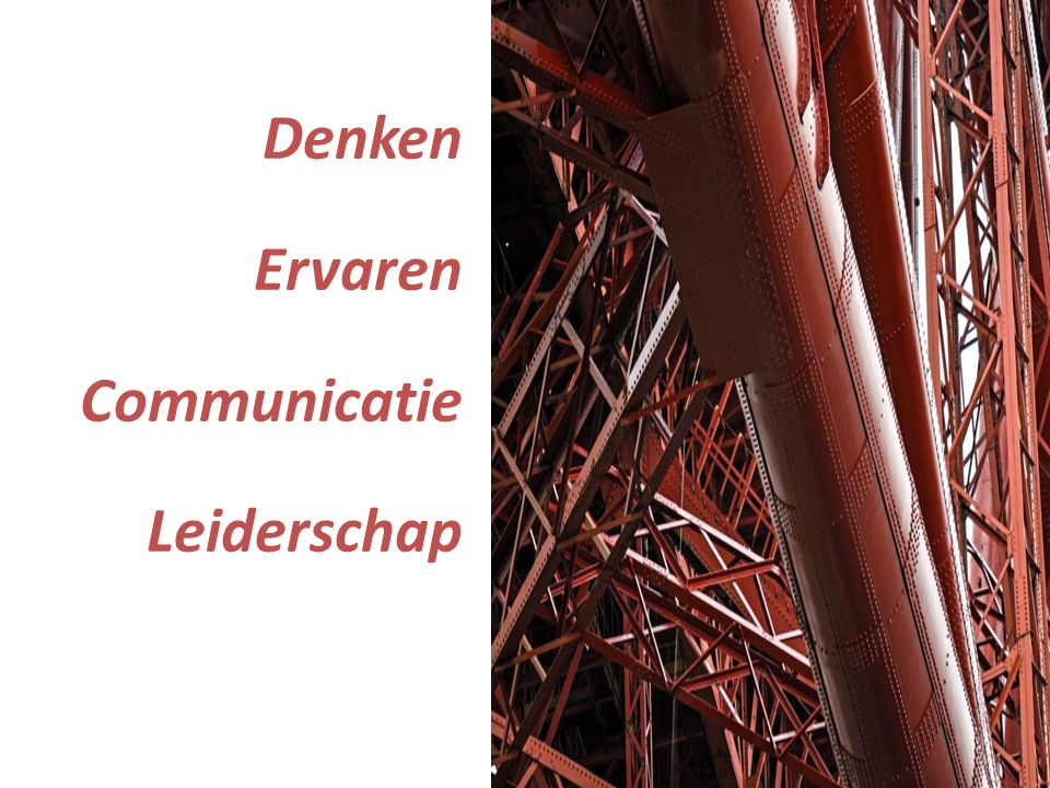 Denken Ervaren Communicatie Leiderschap
