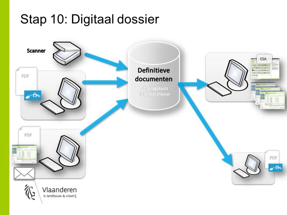 Stap 10: Digitaal dossier