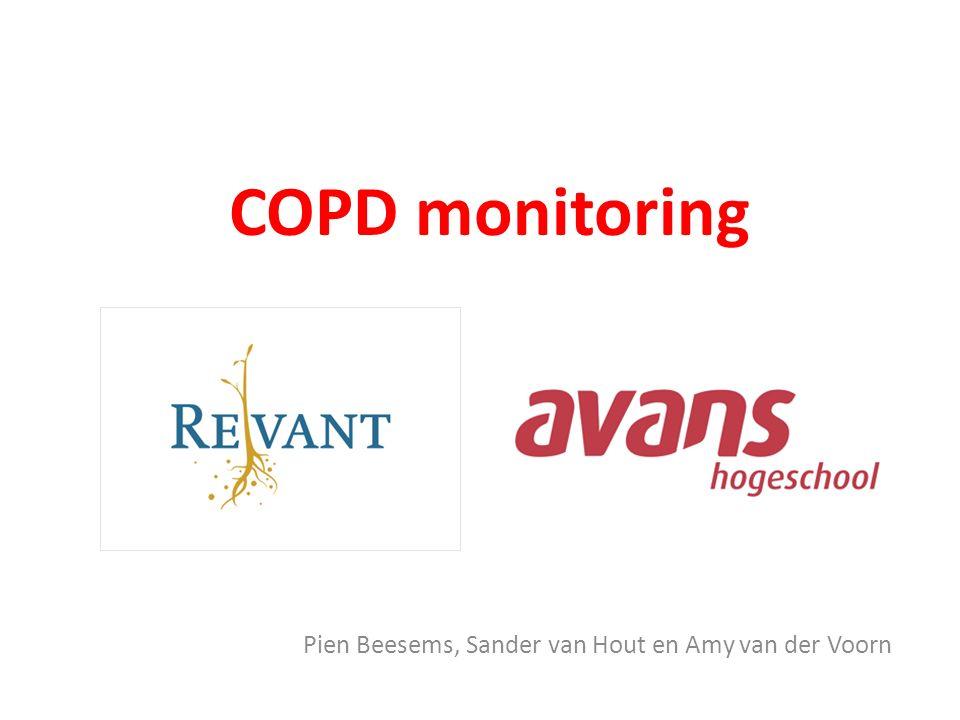COPD monitoring Pien Beesems, Sander van Hout en Amy van der Voorn