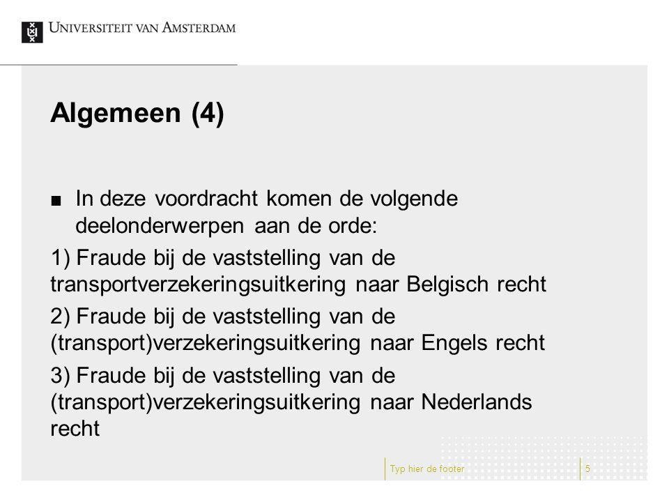 Nederlands recht (10): opzegging (1) In geval een verzekeraar in de verzekeringsvoorwaarden een opzeggingsgrond heeft opgenomen in geval van fraude bij de vaststelling van de uitkering zal de verzekeraar de betreffende overeenkomst kunnen opzeggen: aan de voorwaarde ex art.
