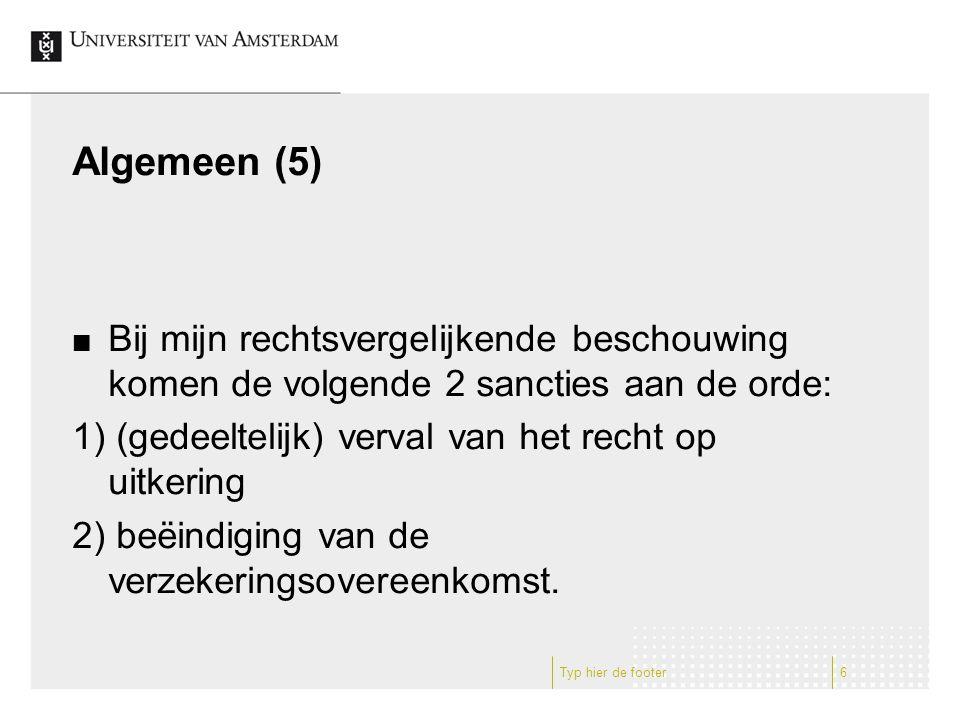Belgisch recht (1) Aan de orde komen de volgende wettelijke regelingen: 1) Verzekeringswet 1874 (art.