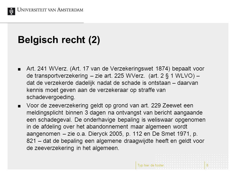 Belgisch recht (2) Art. 241 WVerz. (Art.