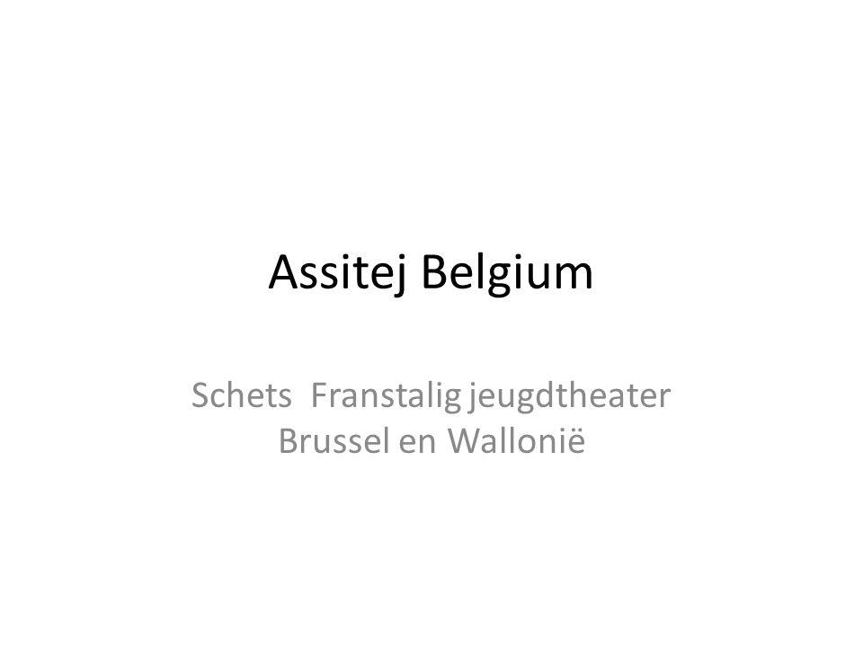 Assitej Belgium Schets Franstalig jeugdtheater Brussel en Wallonië