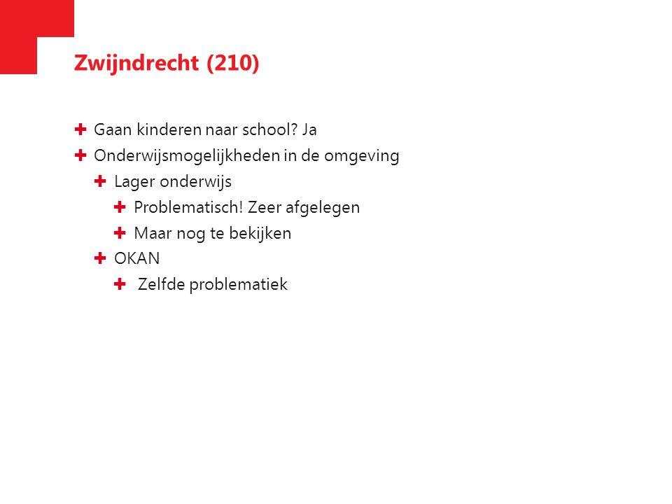 Zwijndrecht (210) ✚ Gaan kinderen naar school.