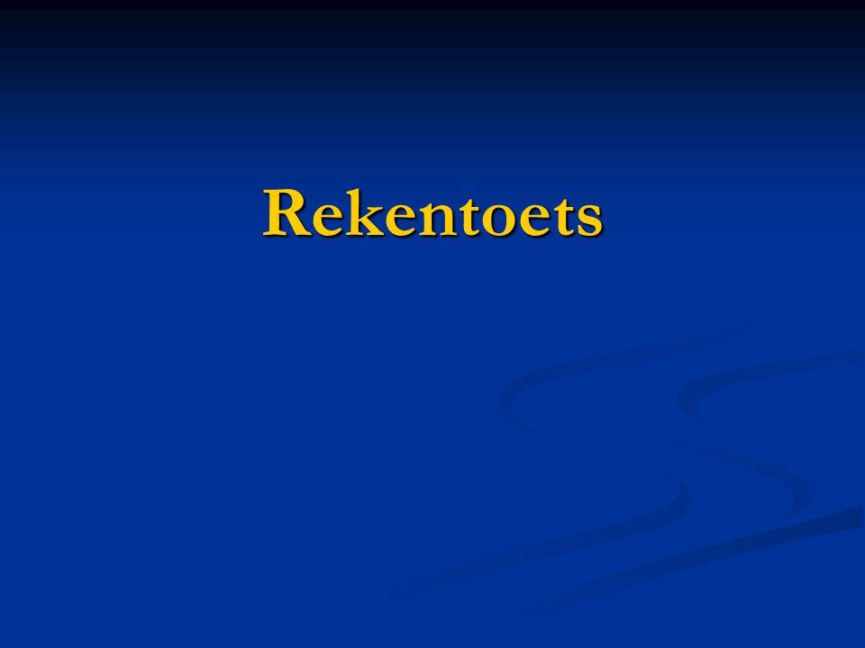 Rekentoets