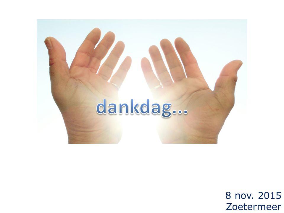 8 nov. 2015 Zoetermeer