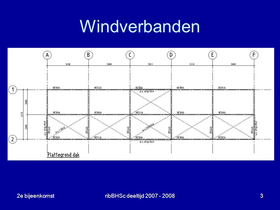 2e bijeenkomstribBHSc deeltijd 2007 - 20083 Windverbanden