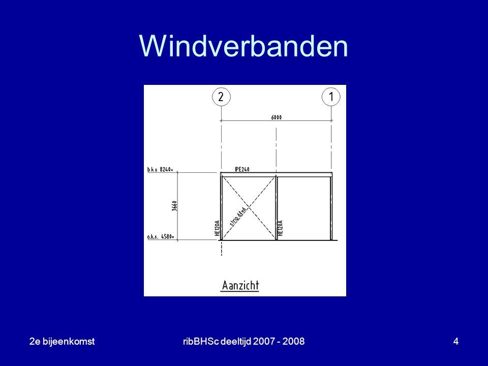 2e bijeenkomstribBHSc deeltijd 2007 - 20084 Windverbanden