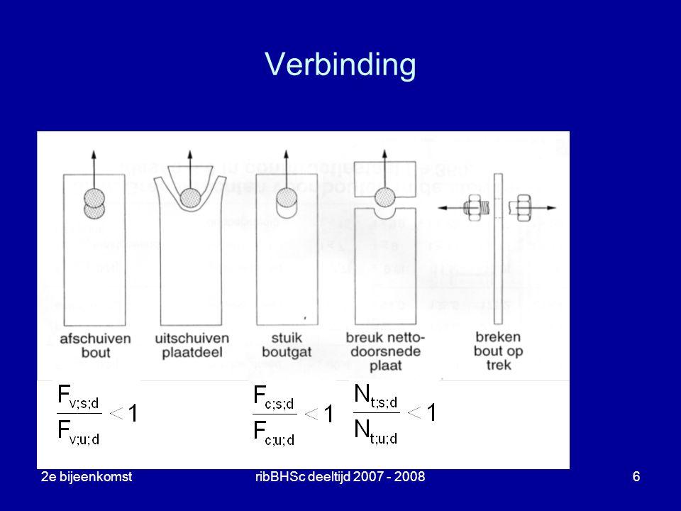 2e bijeenkomstribBHSc deeltijd 2007 - 20086 Verbinding