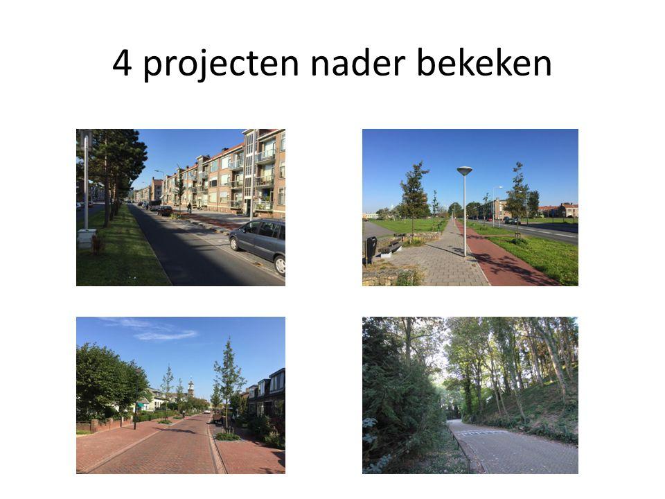 4 projecten nader bekeken